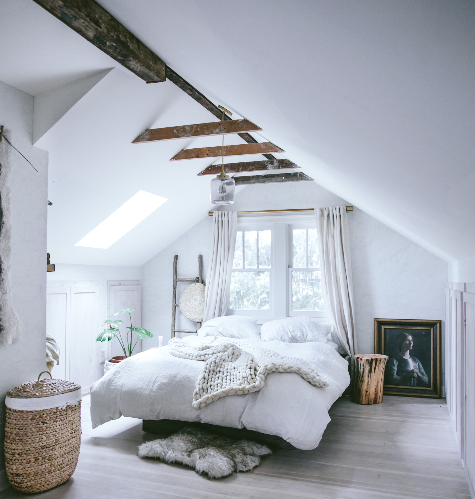 Bedroom Inspiration Pitched Roof