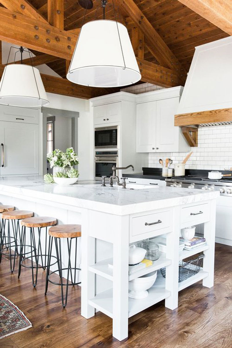 Cabin Mountain Home Kitchen Remodel | COCOCOZY